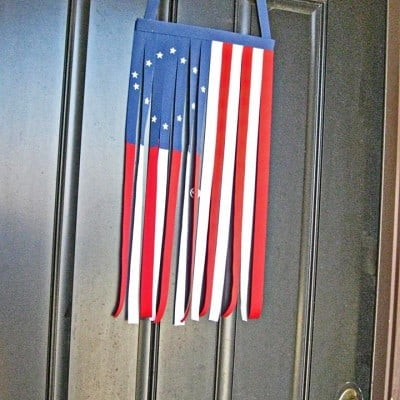 4th of July Ribbon Flag