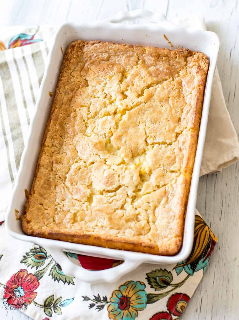 Corn Casserole Recipe - a holiday favorite in our home.