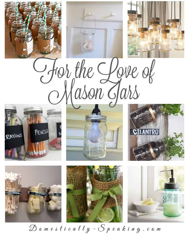For the Love of Mason Jars - Best blog posts ever