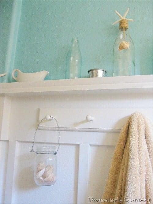 Domestically Speaking: Pottery Barn knock-off mason jar