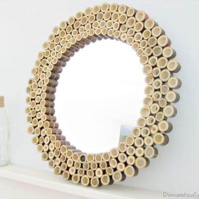 Bamboo Sunburst Mirror