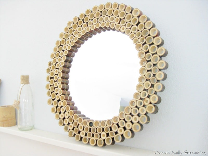 Bamboo Sunburst Mirror Domestically Speaking