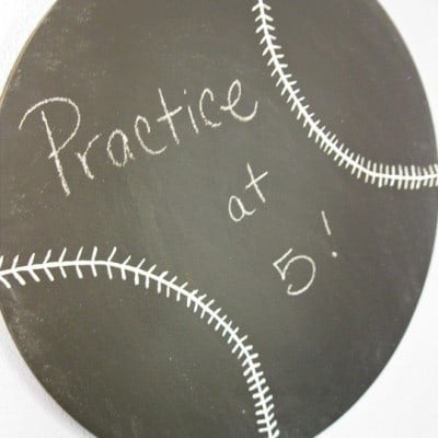 115th Power of Paint Party… Baseball Chalkboard
