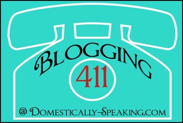 blogging 411