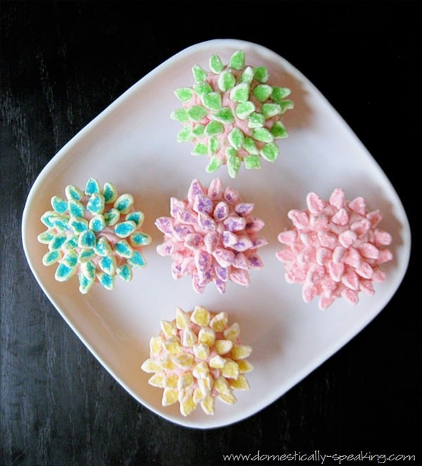 cupcakes, spring, flowers, marshmallows, decorating