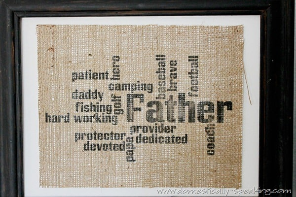 father burlap 5