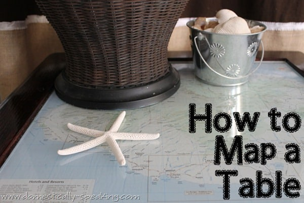 how to map a table copy