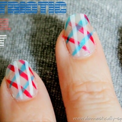 Countdown to Summer Party… Patriotic Nails