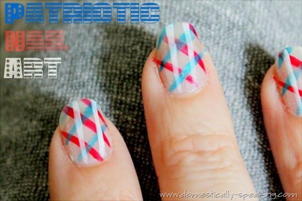 patriotic nails 2