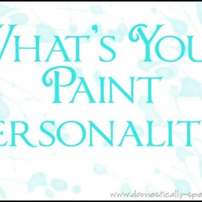 126th Power of Paint Party… Paint Personality