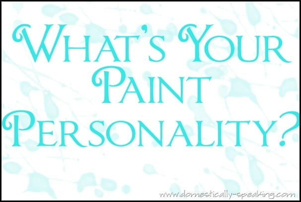 whats your paint personality