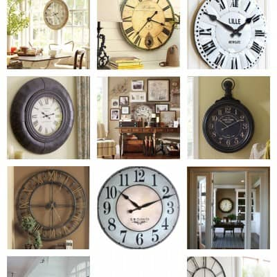For the LOVE of… Big Clocks