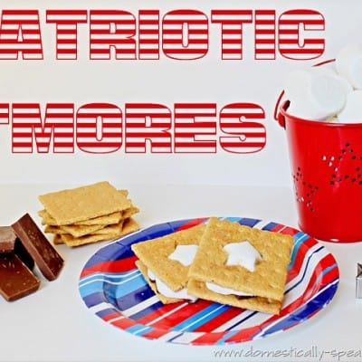 Countdown to Summer Party… Patriotic S'mores