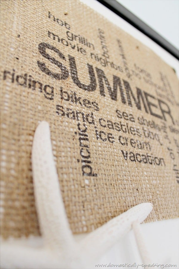 summer, burlap, art, subway