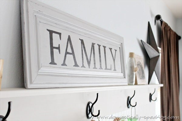 DIY Family Sign Project