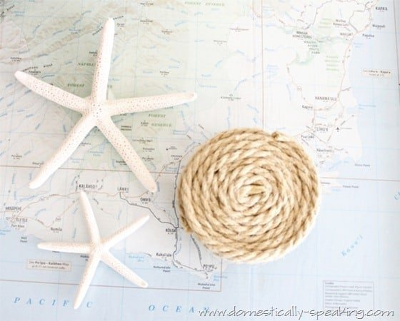 Rope Coasters for your summer decor