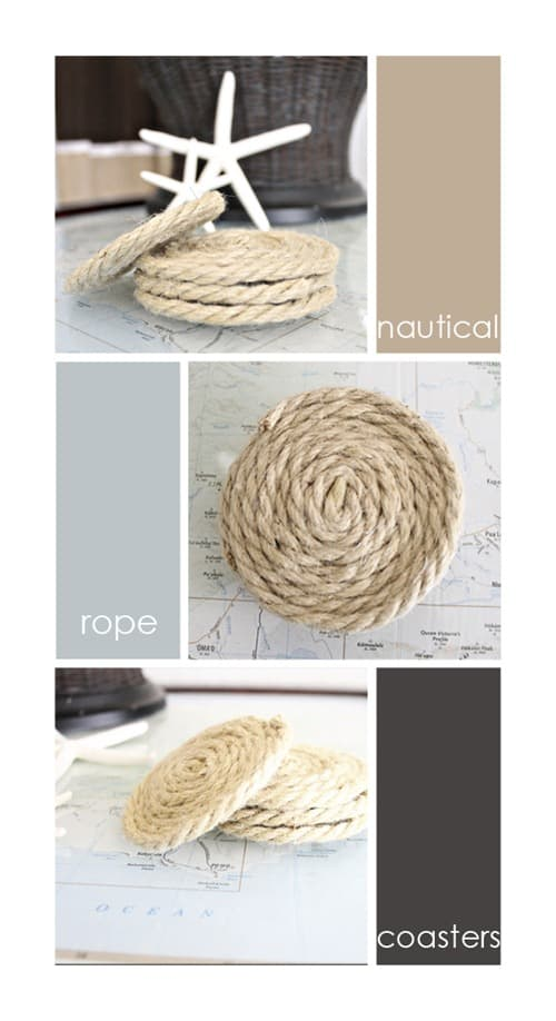 How to Make Rope Coasters