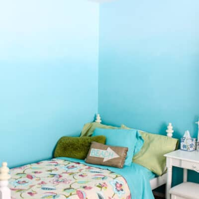 Ombre Bedroom Walls Tutorial