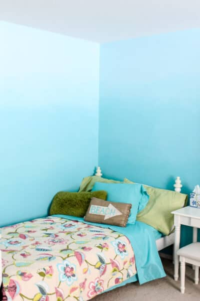 How to Create Ombre Bedroom Walls