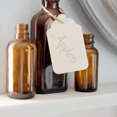 Brown Bottles for Fall