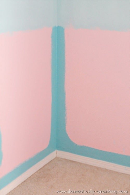 paint, party, bedroom, teal