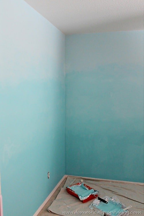 Blending to create the perfect ombre wall