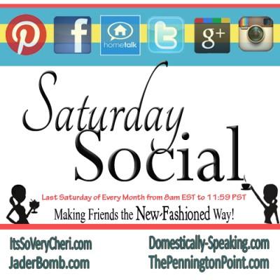 Saturday Social No. 1 – Pinterest