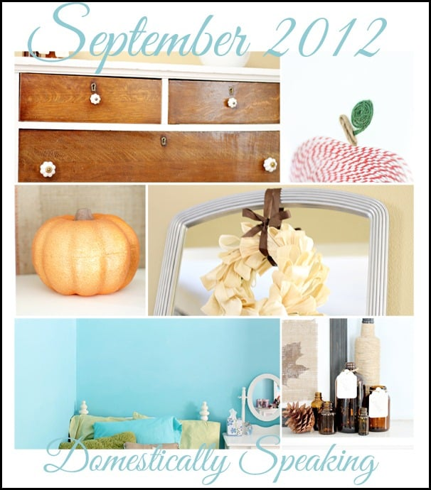 paint, pumpkins, mirror, dresser