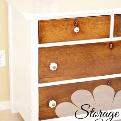 143rd Power of Paint Party… Storage Auction Dresser Treasure