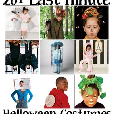 20+ Last Minutes Costume Ideas