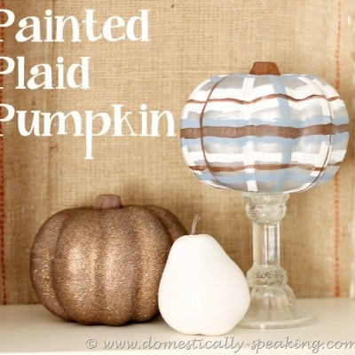 148th Power of Paint Party… Painted Plaid Pumpkins