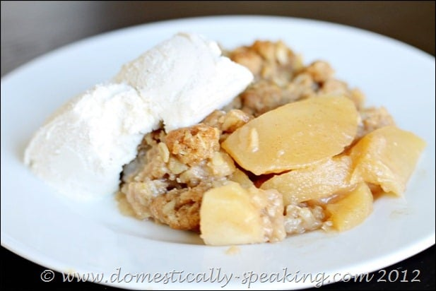 Skillet Apple Crisp Recipe
