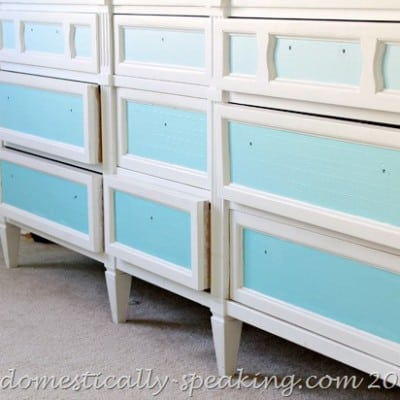 151st Power of Paint Party… Ombre Drawers