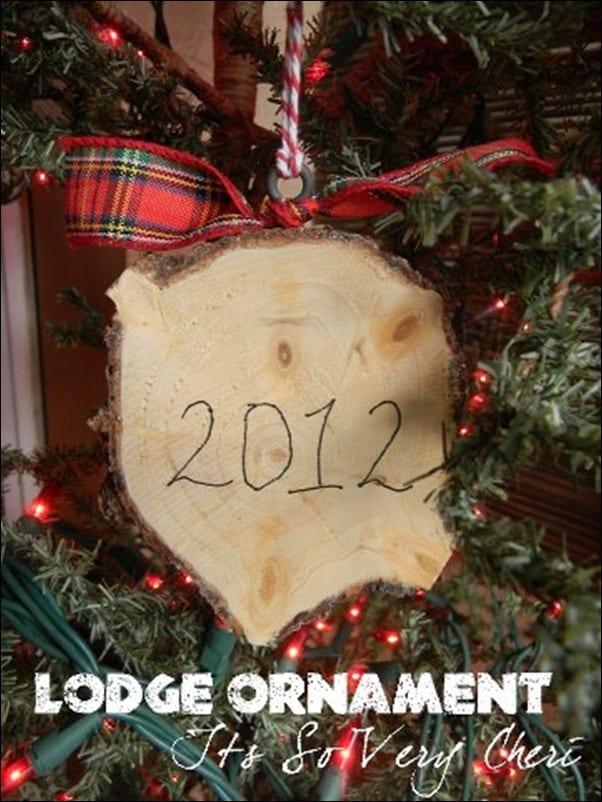 It's So Cheri's Lodge Ornament