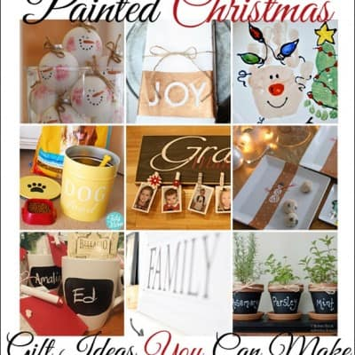 155th Power of Paint Party… Painted Christmas Gift Ideas