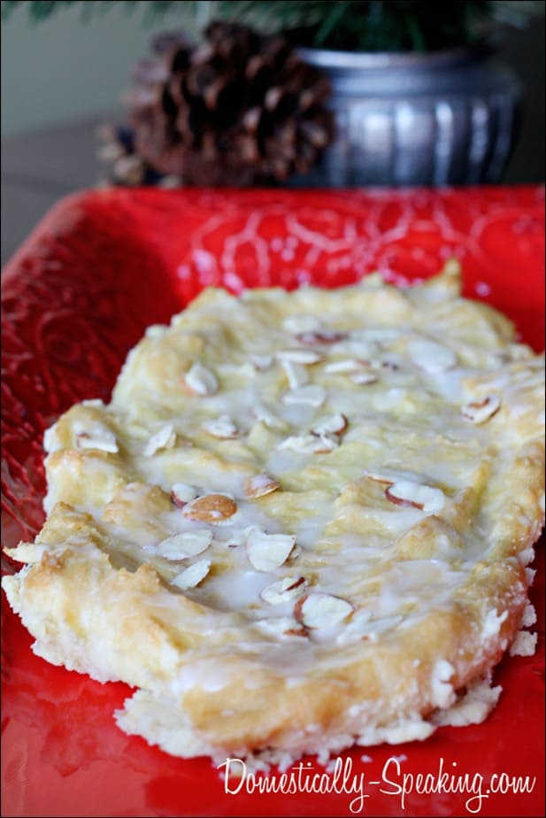 Christmas Almond Pastry