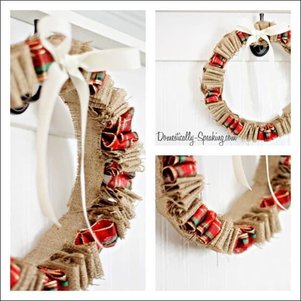 Christmas Ribbon & Burlap