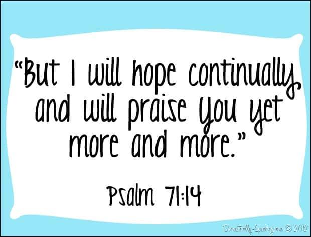 hope week 4