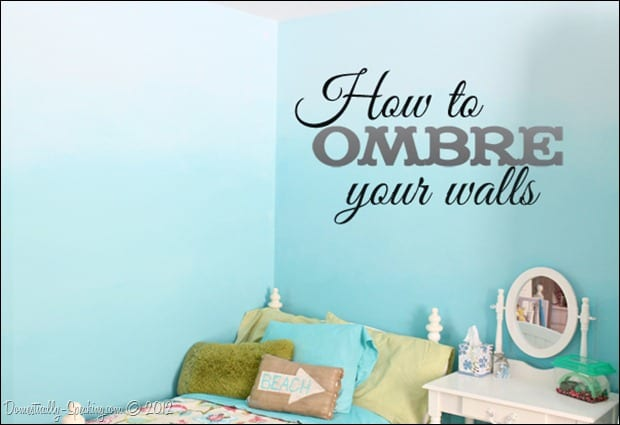 Domestically Speaking: Ombre tutorial