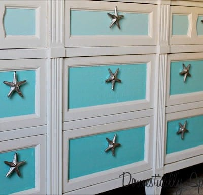 156th Power of Paint Party… Ombre Dresser Update