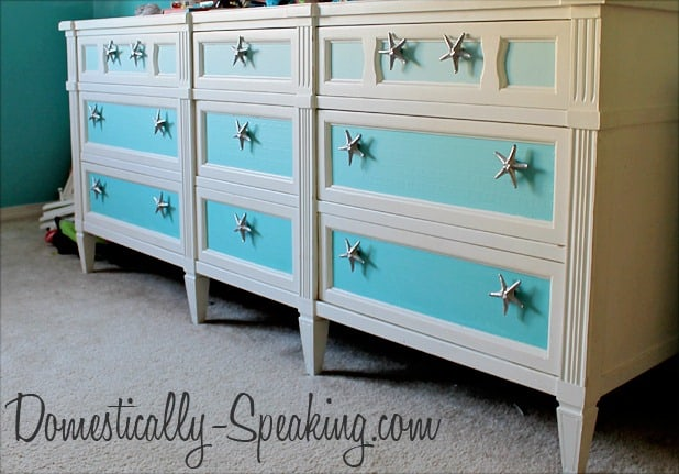 156th Power of Paint Party... Ombre Dresser Update - Domestically ...