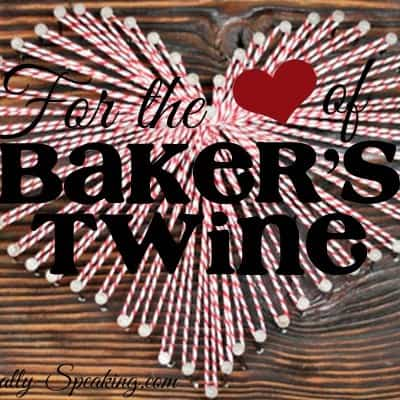 For the LOVE of Baker's Twine