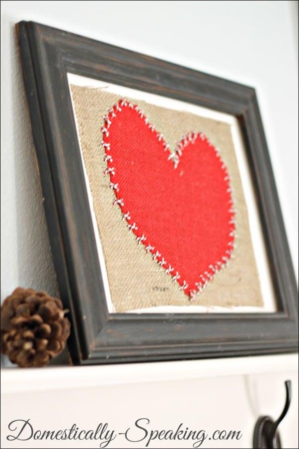 burlap heart 5