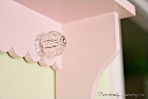 Domestically Speaking:  How to add Sparkle to a Shelf