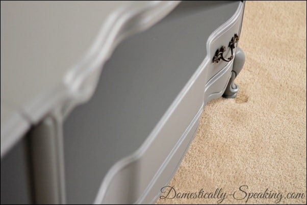 Domestically Speaking: Almost Espresso Gray Paint