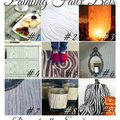 161st Power of Paint Party ~ Faux Bois