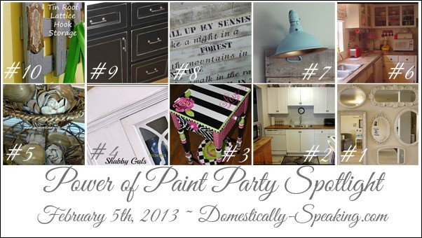 Domestically-Speaking.com Power of Paint Party
