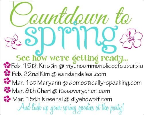 countdown to spring party