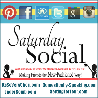 saturday, social, party, google +, twitter, hometalk, pinterest