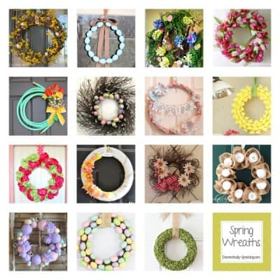 Lots of Fabulous Spring Wreaths